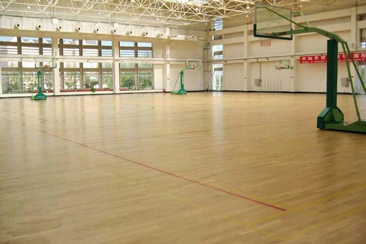 运动木地板案例 - 山东pvc塑胶地板_济南幼儿园塑胶