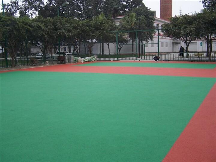 山东塑胶篮球场 潍坊幼儿园塑胶地板
